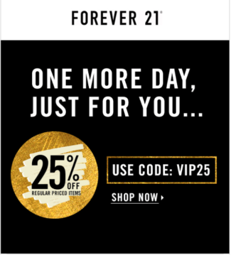Forever 21 Example