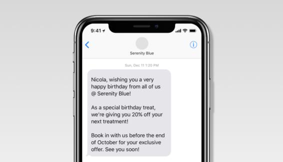 Personalized Birthday SMS